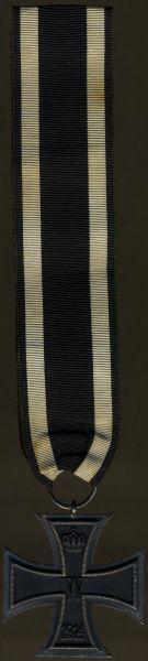 Eisernes Kreuz 2. Klasse 1914 - J. H. Werner / Berlin - 30 cm Band (!)