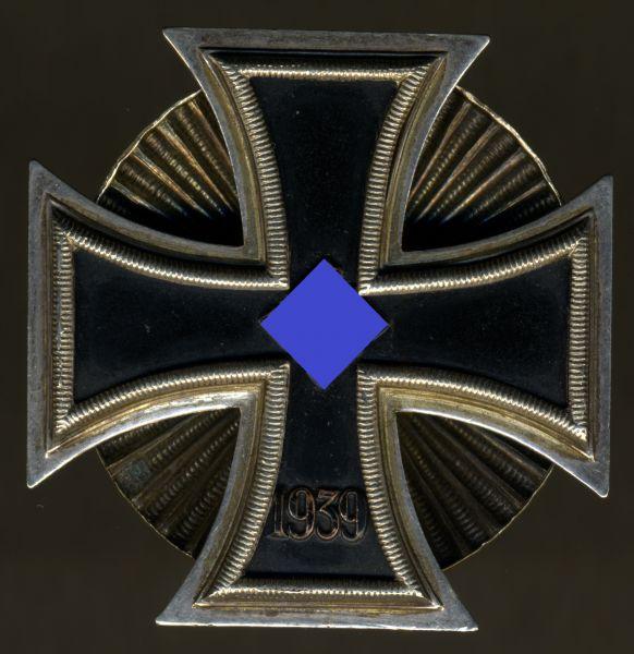 Eisernes Kreuz 1. Klasse 1939 - Schinkel - Schraubscheibe - Wilhelm Deumer / Lüdenscheid