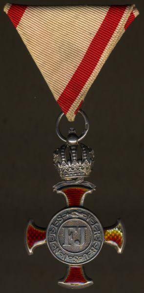 Österreich, Silbernes Verdienstkreuz mit der Krone des Franz-Joseph-Ordens