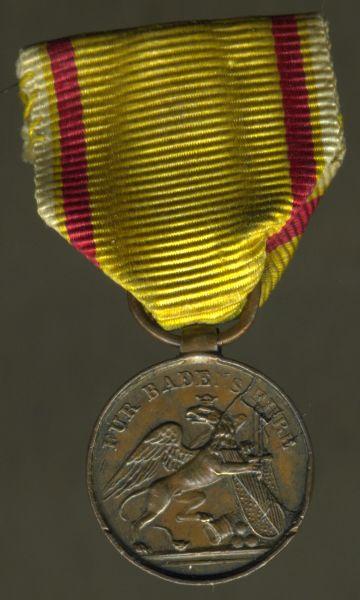 Miniatur - Baden, Felddienst-Auszeichnung