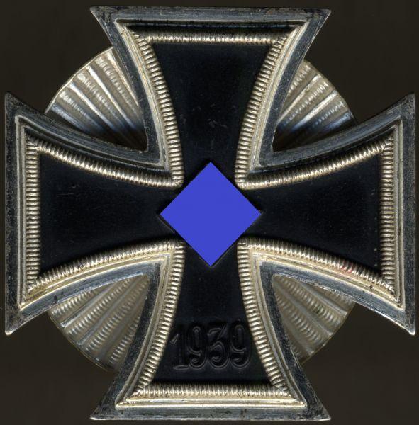 Eisernes Kreuz 1. Klasse 1939 - Schraubscheibe - Wilhelm Deumer / Lüdenscheid