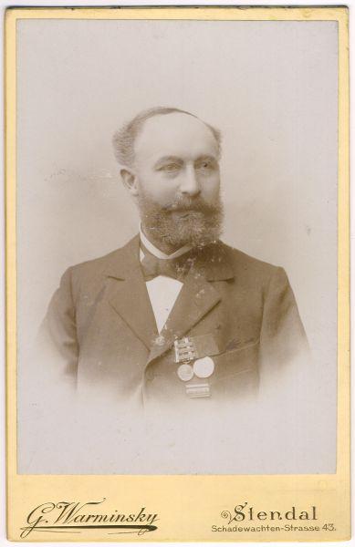 Portrait eines preußischen 1870/71-Veteranen