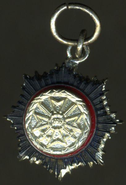 1957 - Miniatur - Deutsches Kreuz in Silber