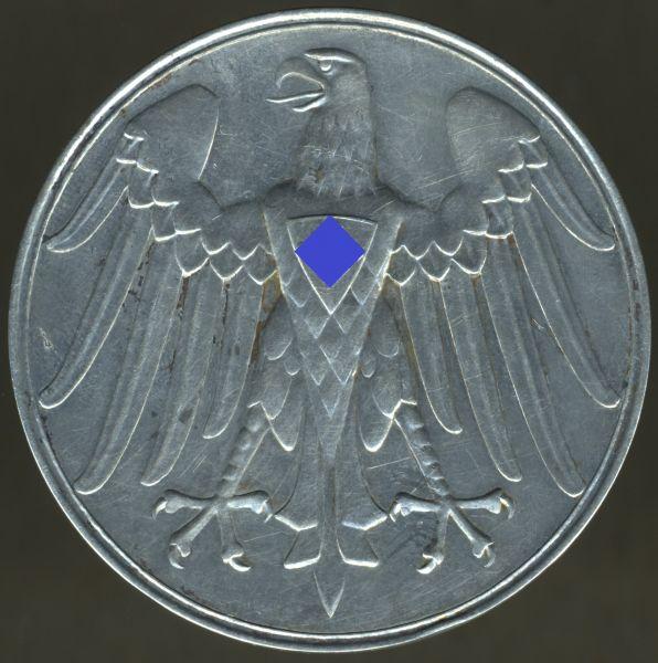Erinnerungsmedaille für Rettung aus Gefahr (3. Reich) - Pr. Münze / Berlin