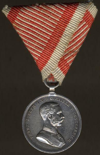 Österreich, (Kleine) Silberne Tapferkeitsmedaille - Hauptmünzamt Wien