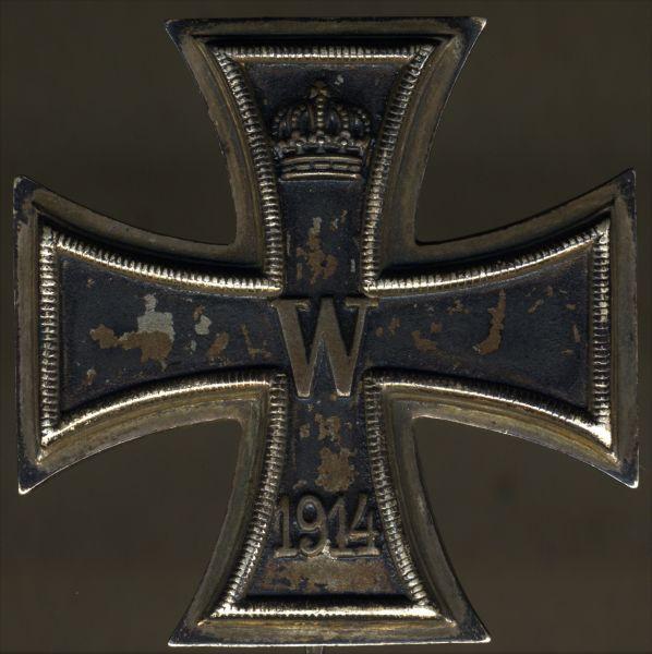 Eisernes Kreuz 1. Klasse 1914 - Klein & Quenzer / Oberstein a.d. Nahe