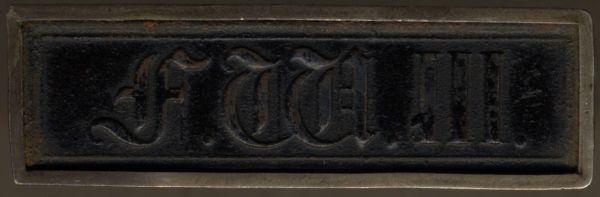Preußen, Dienstauszeichnung 3. Klasse (1. Modell)
