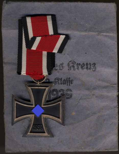 "Übergröße / Ritterkreuzgröße - Eisernes Kreuz 2. Klasse 1939 - Frank & Reif - ""uncut-version"" (!)"