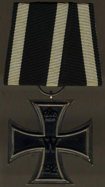Einzelordensschnalle - Eisernes Kreuz 2. Klasse 1914
