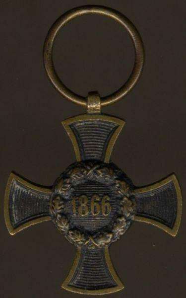 Miniatur - Bayern, Armeedenkzeichen 1866