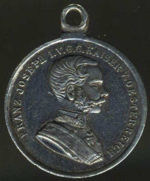 Miniatur - Österreich, Silberne Tapferkeitsmedaille (Karl I.)