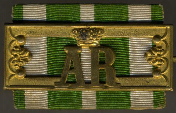 Sachsen, Landwehr-Dienstauszeichnung 2. Klasse (1. Modell)