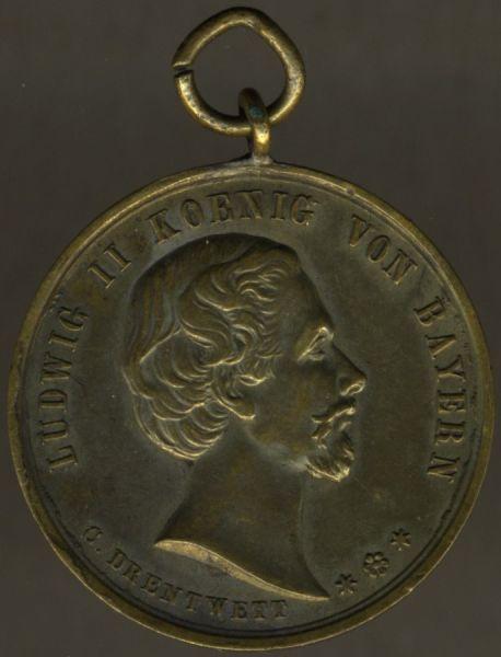 Medaille des Veteranen- & Kriegervereins Aicha vorm Wald