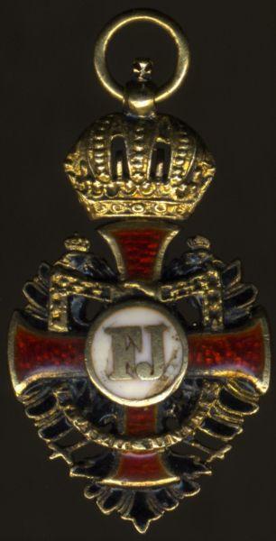 Miniatur - Österreich, Franz-Joseph-Orden Ritterkreuz