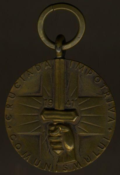 Rumänien, Medaille zur Erinnerung an den Kreuzzug gegen den Kommunismus