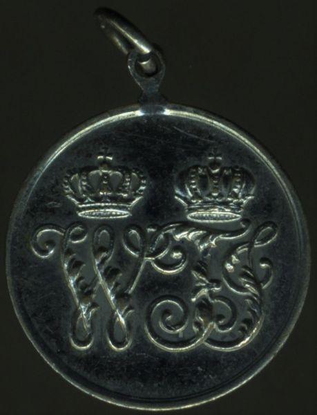 Miniatur - Preußen, Kriegsdenkmünze 1864 für Nichtkämpfer