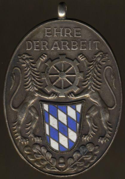 Ehrenzeichen der Bayerischen Industrie für 25 Jahre