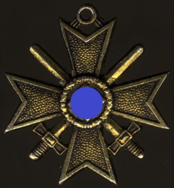 Miniatur - Kriegsverdienstkreuz 1939 mit Schwertern