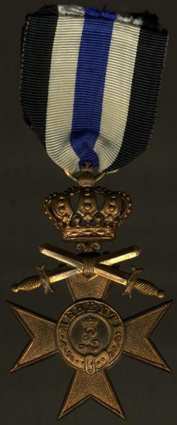 Bayern, Militär-Verdienstkreuz 3. Klasse mit Krone & Schwertern - Weiss & Co. / München