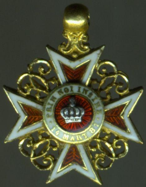 Miniatur - Rumänien, Orden der Krone von Rumänien