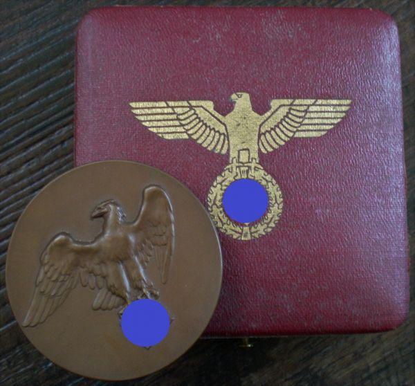 Medaille des Reichsministers für Ernährung & Landwirtschaft mit Etui - Pr. Münze / Berlin