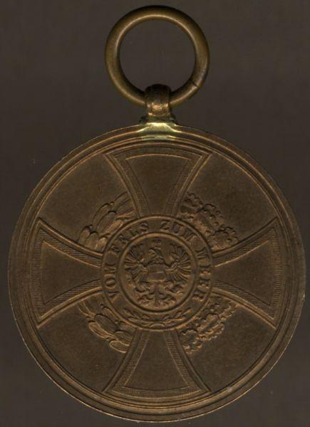 Preußen, Hohenzollernsche Kriegsdenkmünze 1848/49 für Nichtkämpfer