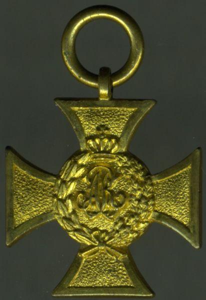 Miniatur - Sachsen, Erinnerungskreuz 1863/64