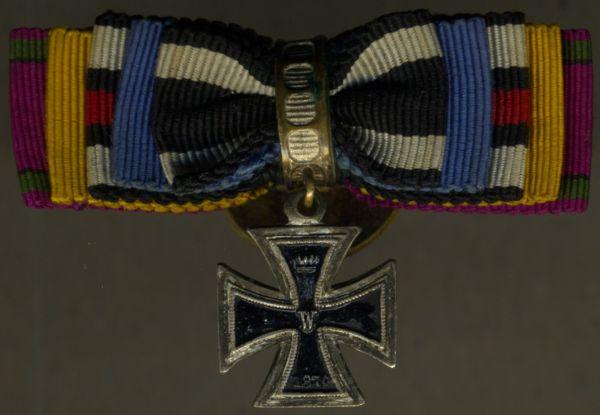 5er Knopflochdekoration eines 1870/71-Veteranen