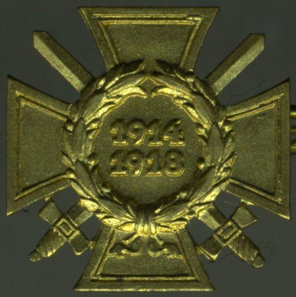 Miniatur - Frontkämpferehrenkreuz