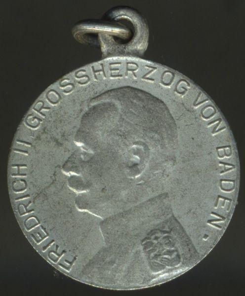 Miniatur - Baden, Silberne Verdienstmedaille (Friedrich II.)