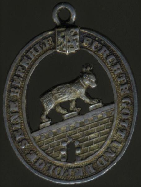 Miniatur - Anhalt, Hausorden Albrecht des Bären Ritterzeichen 2. Klasse