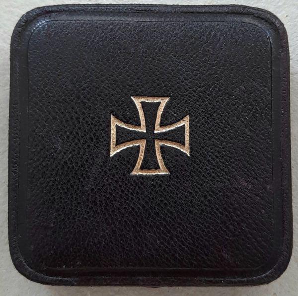 Etui zum Eisernen Kreuz 1. Klasse 1914