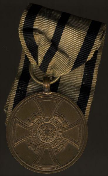 Preußen, Hohenzollernsche Denkmünze 1848/49 für Kämpfer