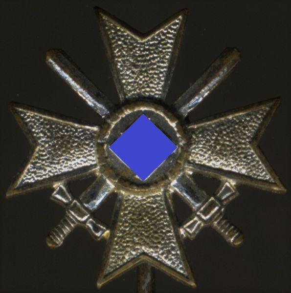 Miniatur - Kriegsverdienstkreuz 1. Klasse 1939 mit Schwertern - WIlhelm Deumer / Lüdenscheid