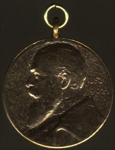 Miniatur - Baden, Bronzene Regierungsjubiläumsmedaille