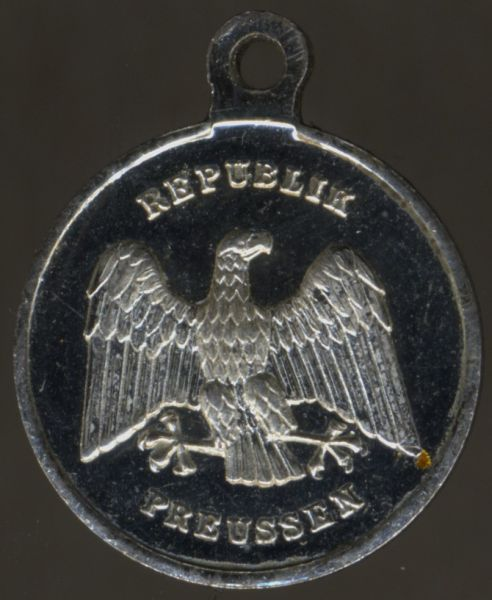 Miniatur - (Freistaat) Preußen, Rettungsmedaille
