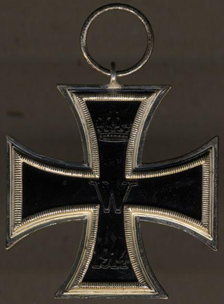 Eisernes Kreuz 2. Klasse 1914 - Wilhelm Deumer / Lüdenscheid - unmagnetisch (!)