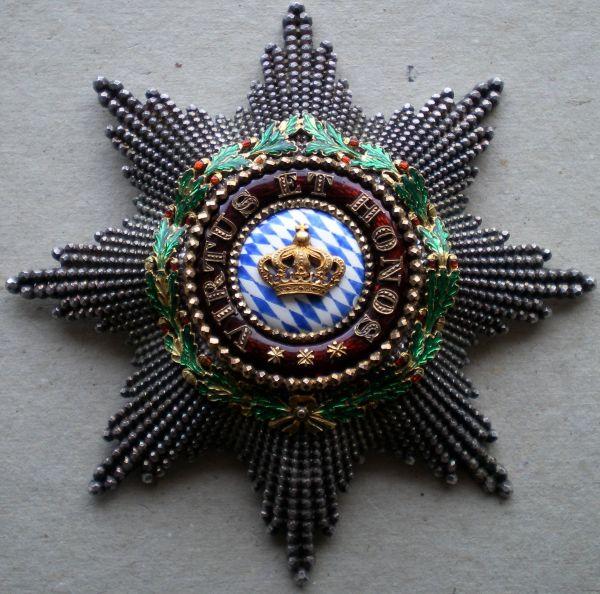 Bayern, Zivil-Verdienstorden der Bayerischen Krone Großkreuz-Stern