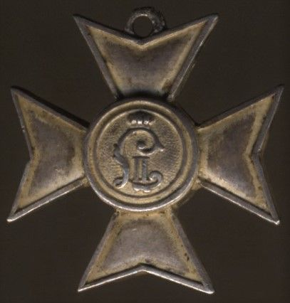 Miniatur - Bayern, Landwehr-Dienstauszeichnung 1. Klasse