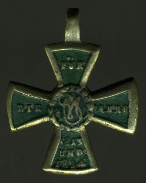 Miniatur - Bayern, Militär-Denkzeichen für 1813/14/15