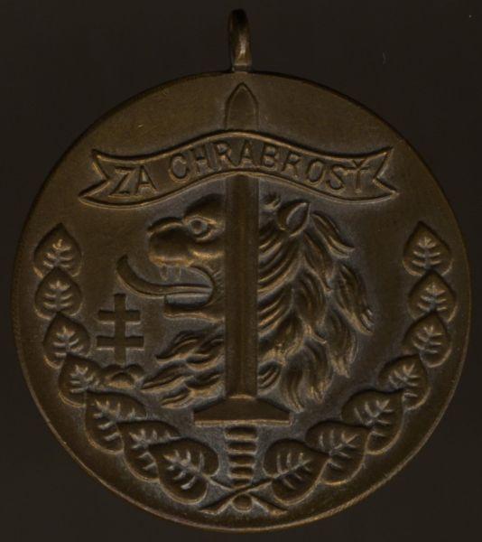 Tschechoslowakei, Tapferkeitsmedaille