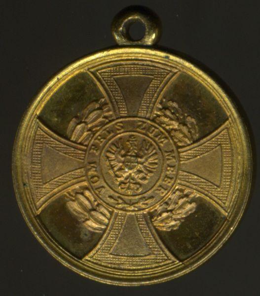 Miniatur - Preußen, Hohenzollernsche Denkmünze 1848/49 für Kämpfer
