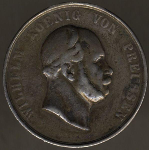 Preußen, (Militärische) Schieß-Preismedaille (Wilhelm I.)