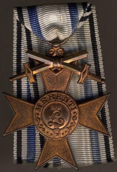 Bayern, Militär-Verdienstkreuz 3. Klasse mit Schwertern - Jacob Leser / Straubing