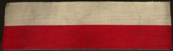 Band zur Gemeinsamen Kriegsdenkmünze der Hanseatischen Legion 1815