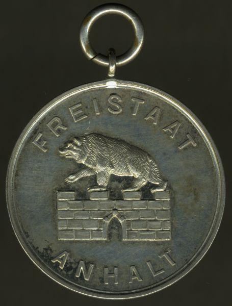 (Freistaat) Anhalt, Feuerwehr-Erinnerungszeichen 25 Jahre