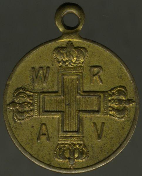 Miniatur - Preußen, Rote-Kreuzmedaille 3. Klasse