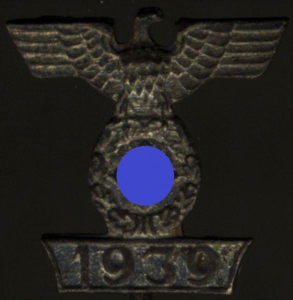 Miniatur - Spange zum Eisernen Kreuz 2. Klasse 1939 (1. Form)