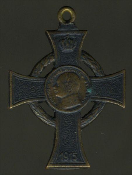 Miniatur - Sachsen, Kriegsverdienstkreuz
