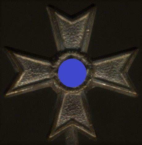 "Miniatur - Kriegsverdienstkreuz 1. Klasse 1939 ohne Schwerter - ""L/16"""